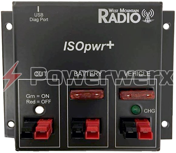 Picture of West Mountain Radio ISOpwr+ (Plus) Auxiliary Battery Isolator