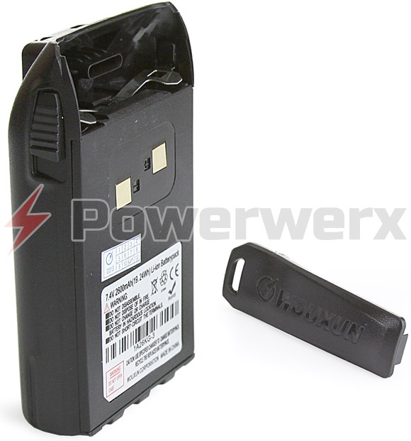 Picture of Wouxun High Capacity 2600 mAh Li-ion Battery Pack
