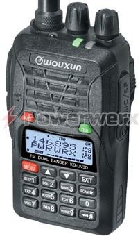 Picture of Wouxun KG-UV3D Dual Band 128 Channel Handheld Amateur Radio