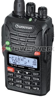 Picture of Wouxun KG-UV6X Dual Band VHF/UHF 200 Channel Handheld Commercial Radio