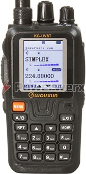 Picture of Wouxun KG-UV8T U.S. Version Tri-Band 999 Channel Amateur Handheld Radio