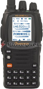 Picture of Wouxun KG-UV9D Plus U.S. Version 7-Band 999 Channel Dual-Band Handheld Amateur Radio