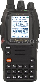 Picture of Wouxun KG-UV9D U.S. Version 7 Band 999 Channel Dual-Band Handheld Amateur Radio