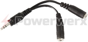 Picture of Y Dual Speaker Adapter Cable